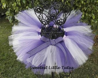 Purple Tutu/ Lavendar and Purple Tutu/ Newborn Tutu/ Sophia the First Tutu/ Newborn - 5T