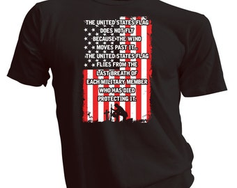 USA Flag T Shirt