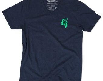 Icon V-Neck T-Shirt - Midnight Navy