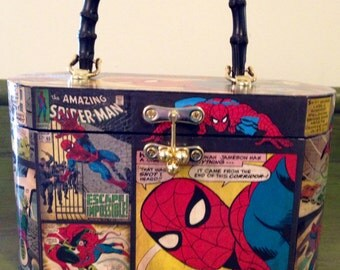 Spiderman Decoupage Purse