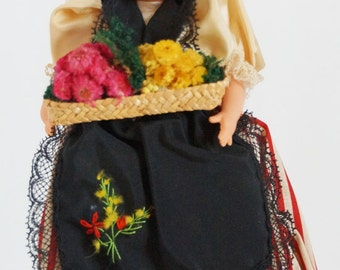French Celluloid Doll from the 1940s