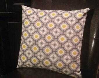 "Accent Pillow - Gray Mosaic - 16"" x 16"""