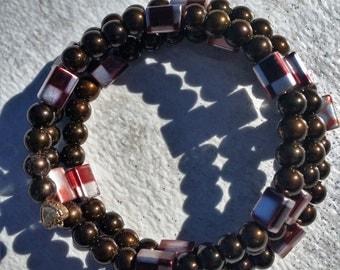 Metallic Brown Bracelet