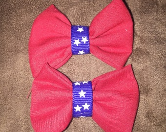 Pig tail bows / infant bows