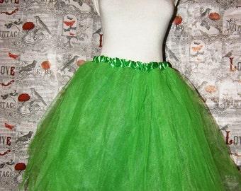 lime light green tutu skirt