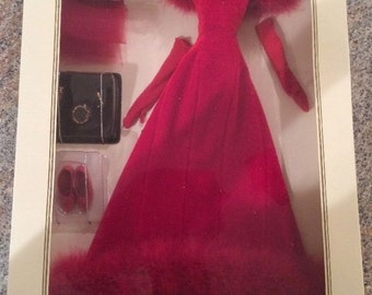 Franklin Mint, Gone With The Wind, Scarlett O'Hara, Red ,Attendance in Shame Ensemble
