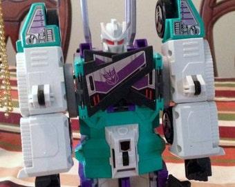 1987  hasbro Gen1 Transformers Sixshot (No Guns)