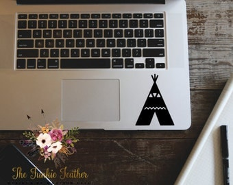 Tipi Decal | Tipi Laptop Decal | Tipi Yeti Decal | Tent Decal | Indian Decal | Western Decal | Native Decal | Boho Decal | Rustic Decal