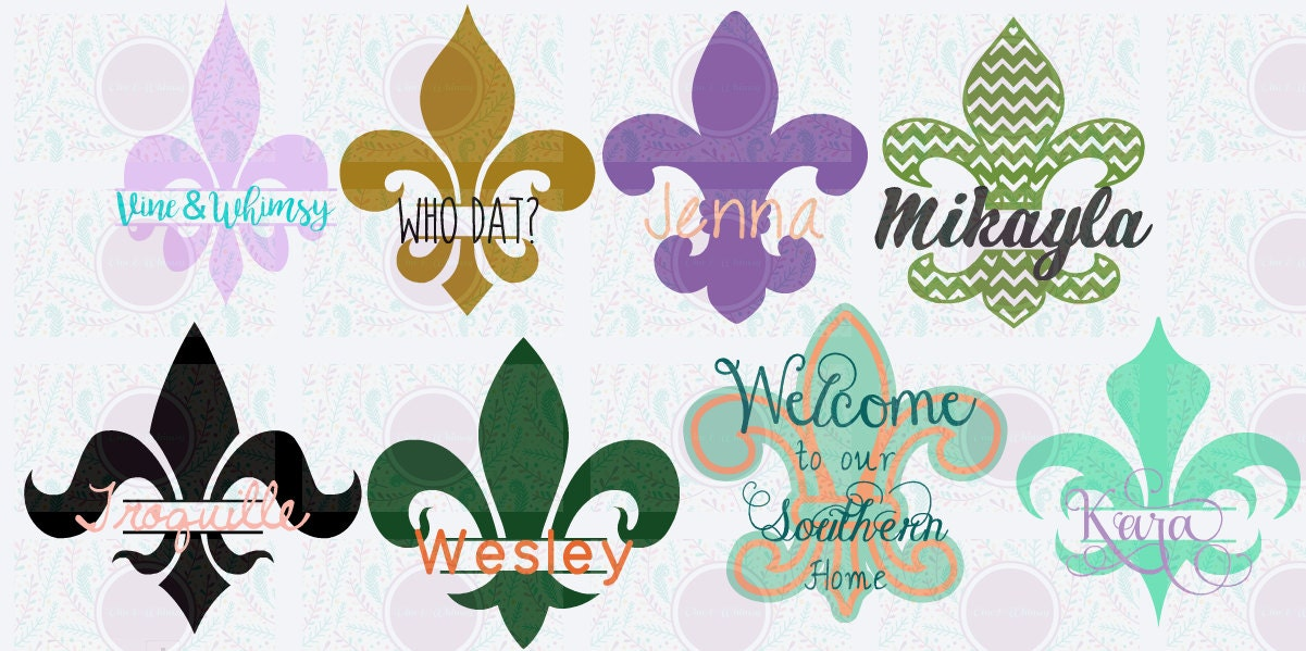 Fleur De Lis Decals Stainless Tumbler Stickers Yeti Monogram - Yeti tumbler stickers