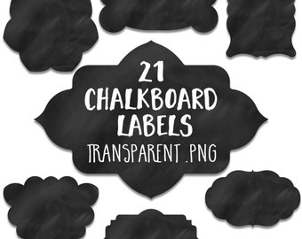 Chalkboard Label Clipart: Chalkboard Label Clip Art, Chalk Label Clipart, Chalk Label Clip Art, Chalk Board Labels, Blackboard Labels Badges