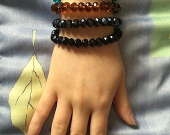 Italian Fashion- Beaded bracelet