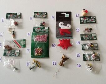 Miniature Christmas Accessories
