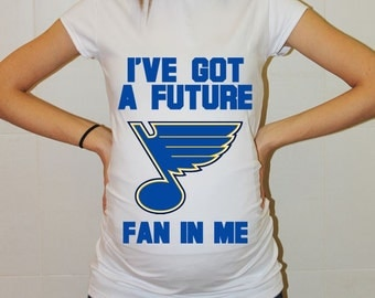 St. Louis Blues Baby St. Louis Blues Baby Boy Baby Girl Maternity Shirt Maternity Clothing Pregnancy New Baby Shower