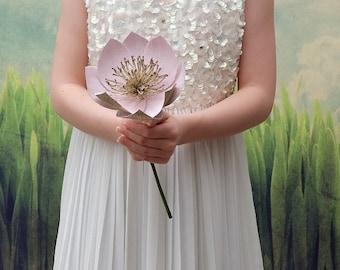 Pink & Gold Bouquet, brides bouquet, bridal bouquet, paper bouquet, wedding bouquet, alternative bouquet, bridesmaids bouquet, paper flowers