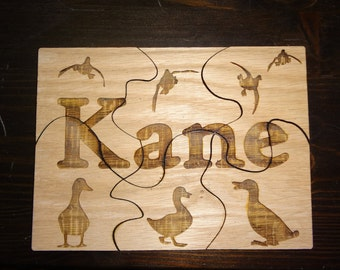 Personalized Wood Puzzle