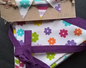 Jolly Good Floral & Stripey Bunting
