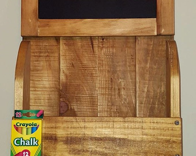 Chalk Board Mail/Key Holder