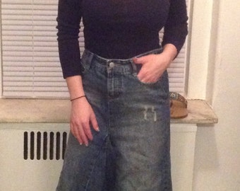 Alloy Mag 90's Denim Maxi Skirt