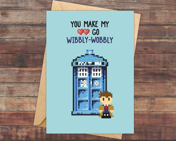 Doctor Who Valentine's Day Card