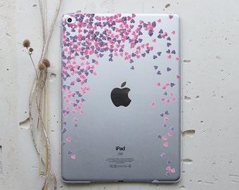 iPad Smart Case iPad 2 Cover iPad Mini 3 Cover iPad Air 2 Case New iPad Case iPad 4 Cover Tablet Case iPad Air Cover Confetti Hearts i011