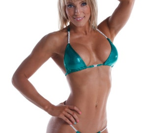 Most Envied Competition Bikini - Kelly Green (NPC, WBFF, OPA)