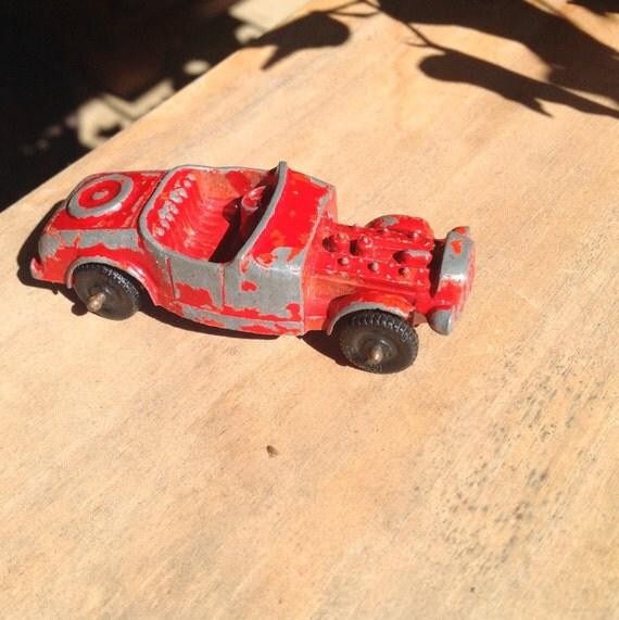 Vintage Metal Car Tootsie Toy Model B Rat Rod Vintage Metal