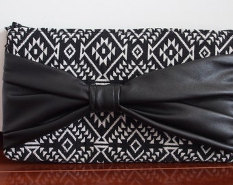 Aztec Bow Clutch