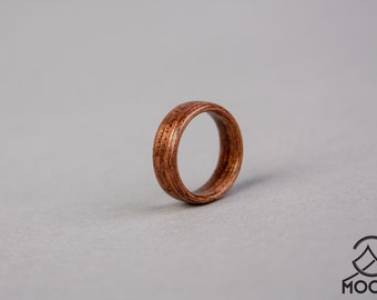 Etimoe Bentwood Ring - Handmade Wood Ring - Men's Wooden Ring - Women's Wooden Ring - Wedding - Engagement