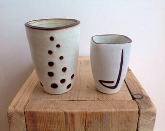 Vintage, Ravelli vases, 70s. Mid Century design, collectable ceramic,