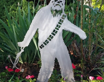 Star Wars Inspired Chewbacca Garden Art - Metal Art for your Yard or Home