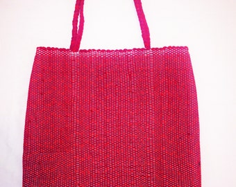 Recycled Egyptian Cotton Shoulder Bag