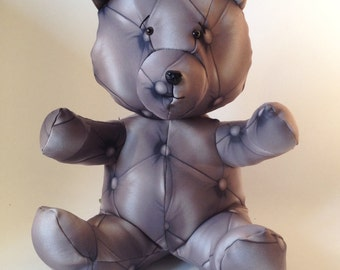 KAPY Bear - Handmade Plush - Very soft upholstery patterns
