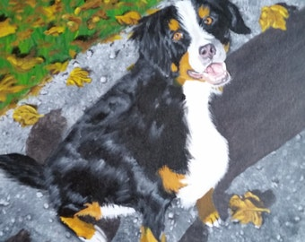 Custom Painted Pet Portraits