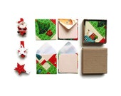 Handmade Envelopes, Gift Card Envelopes, Cute Stationery, Christmas Time, Stationery Set, Blank Note Cards, Greeting Cards, Gifts Under 10