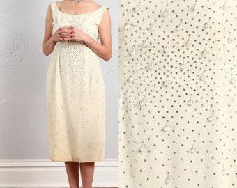 SALE- Beaded Sheath Dress