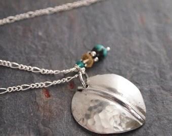 Colorado Aspen Leaf Necklace