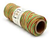 Rasta Hemp Cord, 10lb Hemp Spool,  Dyed Hemp Twine, Colored Hemp String -TW23
