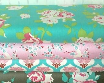 Boutique Floral Fabrics by Tanya Whelan CHLOE by Half Yard