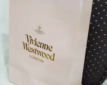 Authentic Brand New Tall Pink VIVIENNE WESTWOOD Gift Bag, Shopping Bag - re-gifting, for her - Obtained in Hong Kong 2016