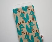 Foxes Case iPhone 4 5 5s 6 6s 6 Plus 6s Plus iPod Classic HTC One A9 M8 M9 LG G4 Samsung Galaxy S6 Sony Xperia Z5 Compact Nexus 5X 6P Sleeve