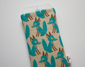 Foxes Case iPhone 4 5 5s 6 6s 6 Plus 6s Plus iPod Classic HTC One A9 M8 M9 LG G5 Samsung Galaxy S7 Sony Xperia Z5 Compact Nexus 5X 6P Sleeve