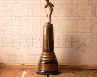Vintage Men's Baseball Trophy - 1948 - Great Guy Gift!