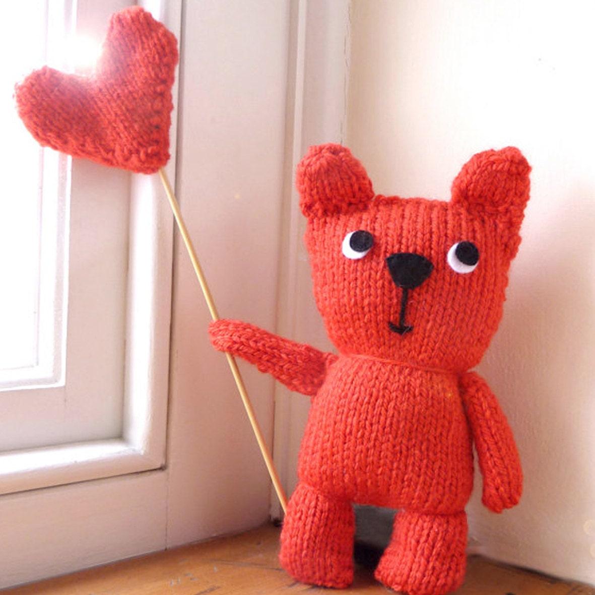 Teddy bear knitting kit zoom bankloansurffo Choice Image