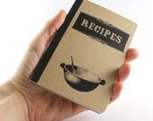 "Small Notebook ""Recipes"""