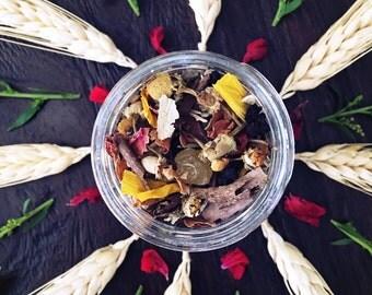 HARVEST Herbal Blend - LAMMAS, Lughnasadh, Ritual, Sabbat