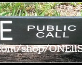 Police Public Call Box, Police Box, Tardis, Dr. Who, Wooden Signs, Rustic Signs, Custom Wooden Signs