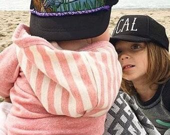 Infant Mermaid Trucker Hat by Roupoli Roupolimama