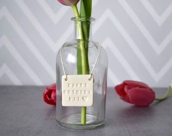 Mother's Day Gift - Bottle Vase - SHIPS FAST - Gift Boxed & Ready to Give