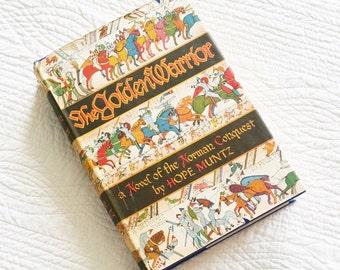 """Vintage """"The Golden Warrior"""" by Hope Muntz, 1949 Publication, Olives and Doves"""