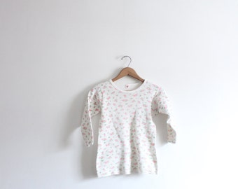 Little Pink Floral Thermal Shirt